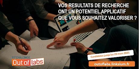 Challenge Out of Labs 11 (webinaire) :  les infos sur l'appel à projets! billets