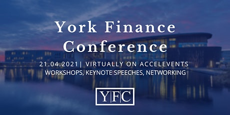 York Finance Conference 2021 tickets