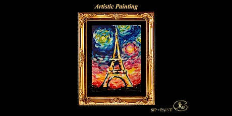 Sip and Paint: Colourful Eiffel Tower (Friday) tickets