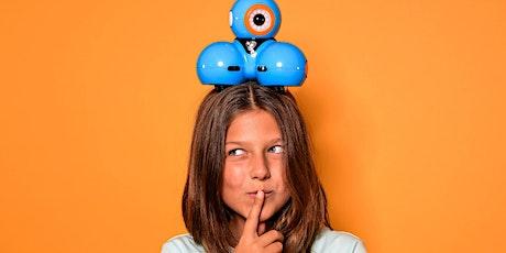 Ferien-Aktionstag: Roboter programmieren mit Dash & Dot! Tickets