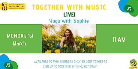 Together with Music Live! Yoga with Sophie tickets