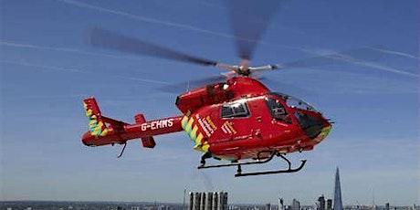 London Air Ambulance Talk and Informal Zoom Drinks tickets