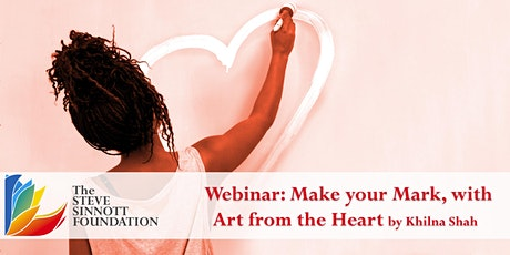 Make your Mark, with Art from the Heart - Life Long Learning Webinar Series entradas