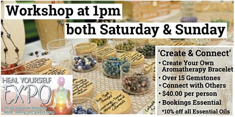 Create Your Own Gemstone Aromatherapy Bracelet - Workshop tickets