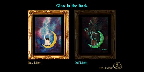 Sip and Paint (Glow in the Dark): I Love You (8pm Sat) tickets