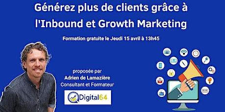 Générez plus de clients grâce à l'Inbound et Growth Marketing entradas