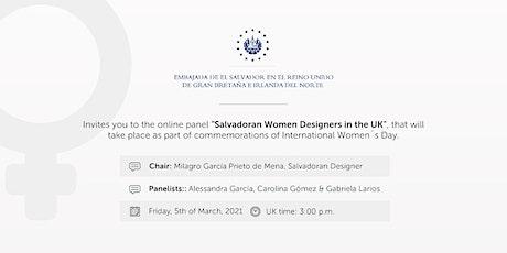 SALVADORAN WOMEN DESIGNERS IN THE UK tickets