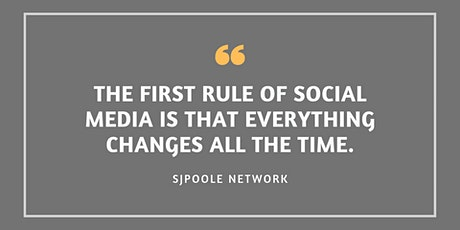 Social Media Strategy 2021 - Zoom Training event tickets