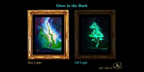 Sip and Paint (Glow in the Dark): The Forest Spirit (8pm Sat) tickets