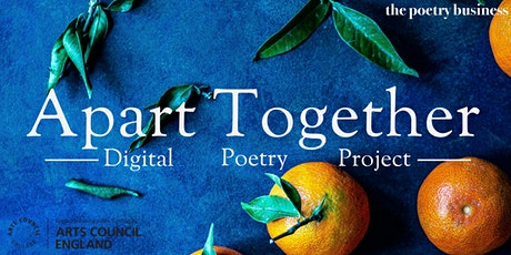 Apart Together: Poetry Writing Workshop with Andrew McMillan tickets