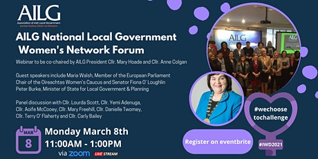 AILG National Local Government Women's Network Forum tickets