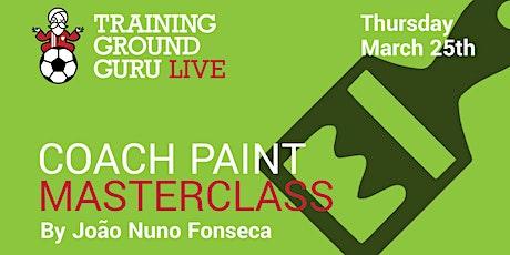 Coach Paint Masterclass tickets