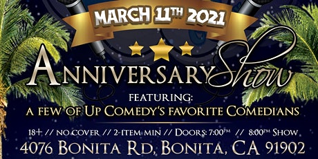 LOL Outdoors Comedy : Up Comedy's 10-Yr Anniversary Show - 3/11 at 7:30 pm tickets
