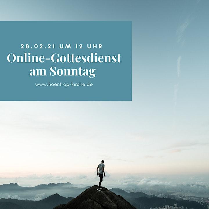 Online-Gottesdienst:  … das ist die Höhe!: Bild