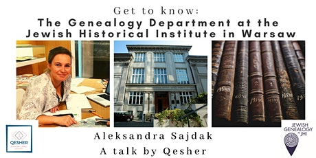 Meet the Genealogy Department at the Jewish Historical Institute in Warsaw tickets