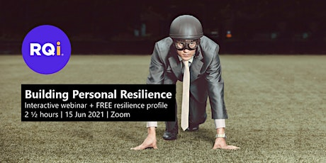 Building Personal Resilience Webinar, 15-Jun 2021 tickets