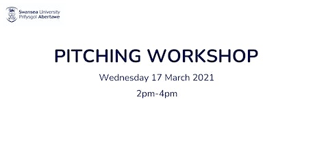 Pitching Workshop Tickets
