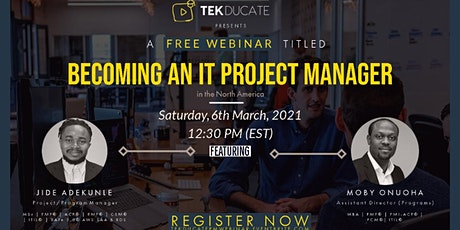 Becoming an IT Project Manager in North America tickets