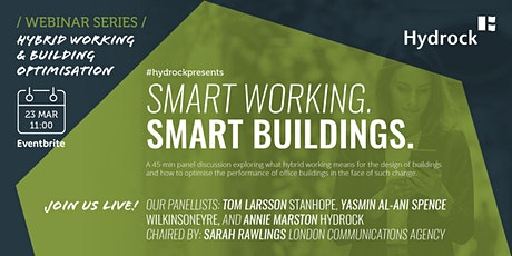 Smart Working. Smart Buildings. tickets