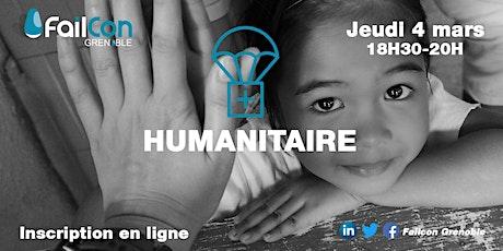 Failcon Grenoble - Humanitaire billets