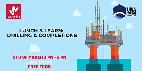 Woodside Lunch & Learn: Drilling & Completions tickets