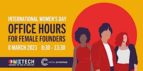 International Women's Day 2021 - Women's Office Hours Tickets