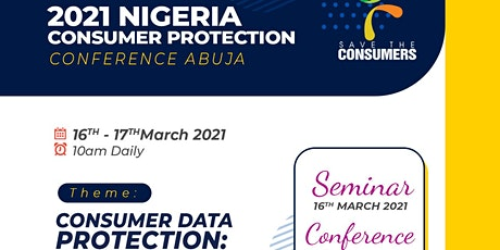 2021 CONSUMER PROTECTION CONFERENCE tickets