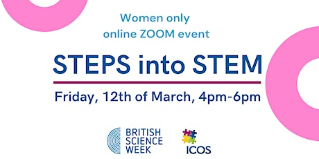 Steps into STEM (women's only event) tickets