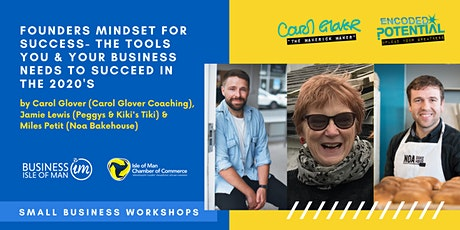 Small Business Workshops   Founders Mindset for Success tickets