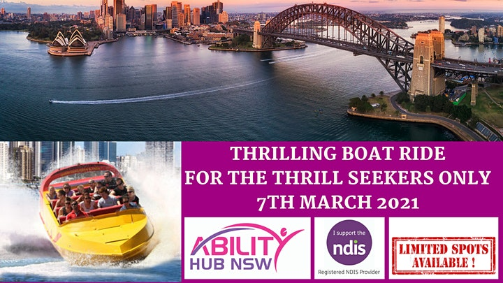 360 Degrees Speed Boat Ride - Disability Support Group NDIS Funded - AHN image