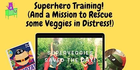 Superhero Training! - A World Book Day 2021 event for Redbridge children tickets