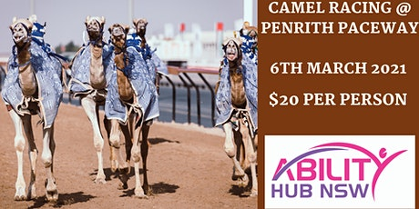 Camel Racing @ Penrith Paceway NDIS Applicants can come - Ability Hub NSW tickets