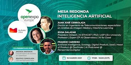 Mesa redonda: La revolución de la Inteligencia Artificial tickets