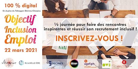 Objectif Inclusion Emploi - 100% digital billets