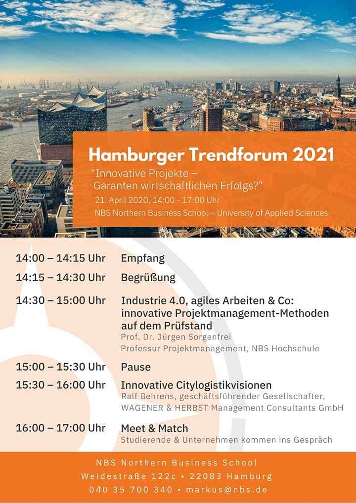 Hamburger Trendforum 2021 (Hybrid): Bild