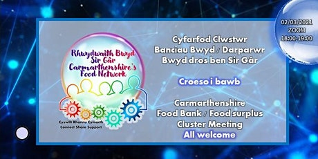 Carmarthenshire Food Bank / Food Surplus Cluster Meeting Tickets