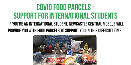 Covid-19 Food Parcel - International Students - March 1st 2021 tickets