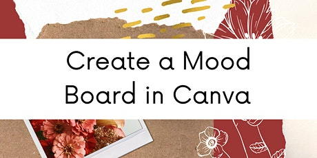 Create a Mood Board in Canva tickets