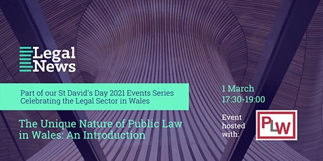 St David's Day Exchange: The Unique Nature of Public Law in Wales tickets