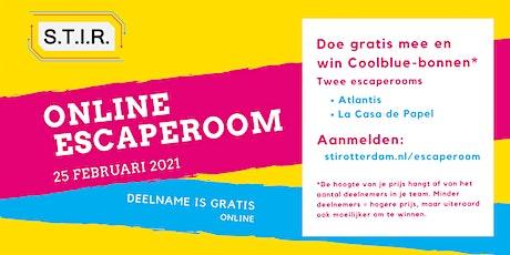 Online Escaperoom 25 februari biglietti