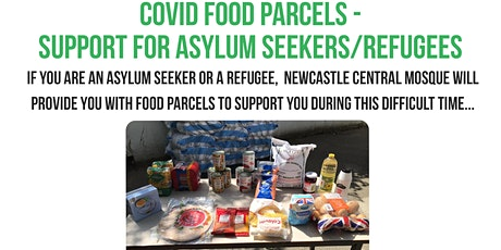 Covid-19 Food Parcels for Refugees/Asylum Seekers tickets