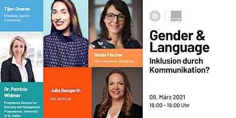 Gender & Language - Inklusion durch Kommunikation? | GDWxDATEV Tickets
