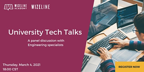 Wizeline University Tech Talks entradas