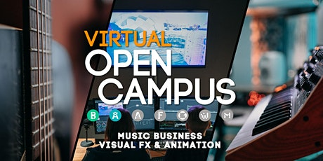 Campus Insights / Music Business und Visual FX & 3D Animation Tickets