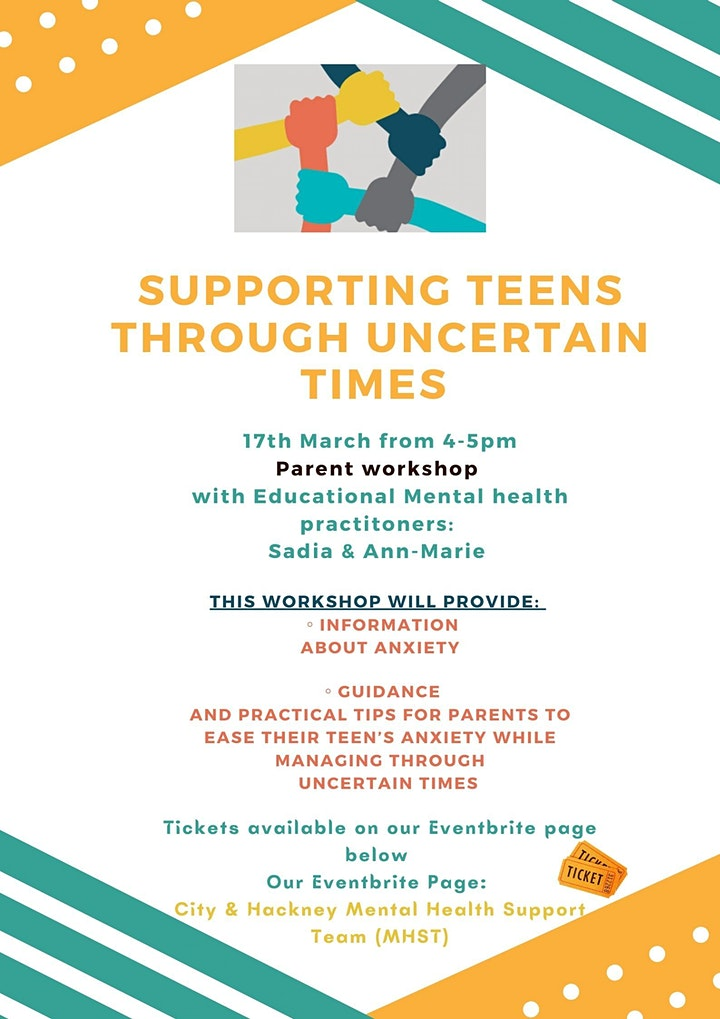 Supporting Teens through uncertain times image