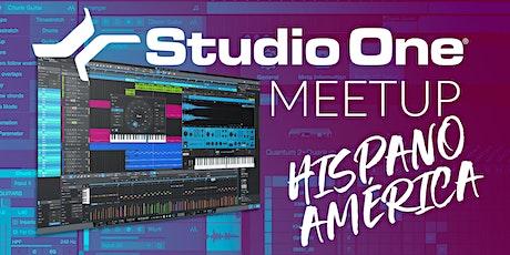 Studio One E-Meetup - Hispanoamérica entradas