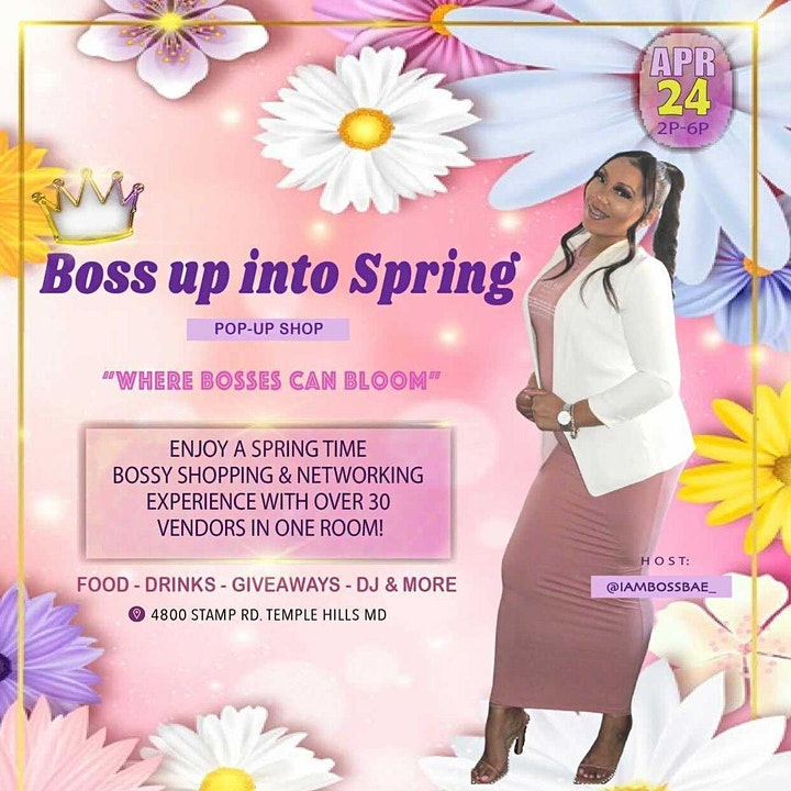 Boss Up into Spring Pop Up Shop image