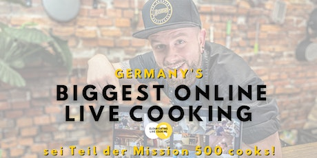 Germany's biggest Online Live Cooking Tickets