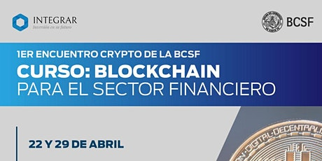 Capacitación en Crypto: Blockchain para el sector financiero tickets