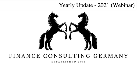 Yearly Update - 2021 - Finance Consulting Germany Tickets